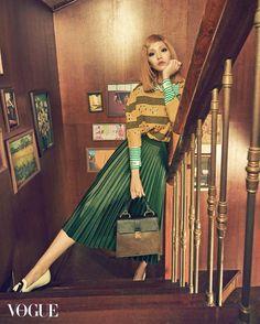 Royal Flush Vogue Korea October 2015