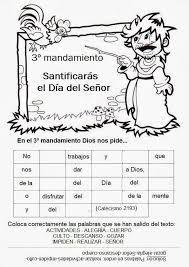 Resultado de imagen para los 10 mandamientos de la ley de dios para dibujar