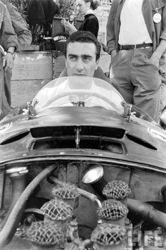 Eugenio Castellotti Monaco 1956 Ferrari