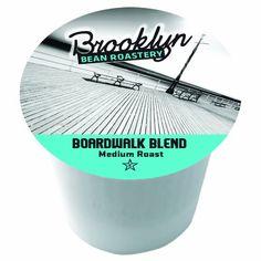 Brooklyn Beans Boardwalk Blend Coffee Single-cup coffee for Keurig K-Cup Brewers, 40 Count Brooklyn Beans http://www.amazon.com/dp/B008I1XNKM/ref=cm_sw_r_pi_dp_FaTOub0KA0SW5