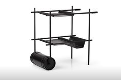 Rollingin Bar Cart by Mingardo