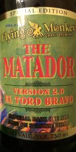 Flying Monkeys The Matador Version 2.0 El Toro Bravo