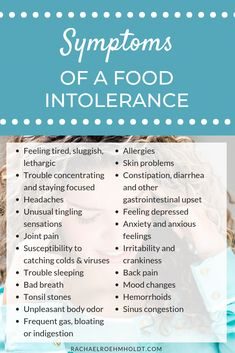 How do you know if you have food intolerances or food sensitivities? The symptoms of a food intolerance. Click through to read the full post about food intolerance and food sensitivity symptoms and how to find out if you have one. Food Intolerance Symptoms, Food Allergy Symptoms, Signs Of Dairy Intolerance, Symptoms Of Allergies, What Is Gluten Intolerance, Gluten Symptoms, Signs Of Food Allergies, Celiac Disease Symptoms, Elimination Diet Plan