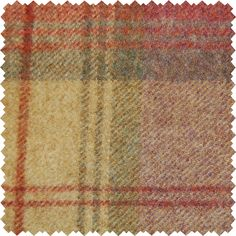 Sanderson Fabric:Highlands. Woodford Plaid is the largest design woven on a multi-coloured warp with a different striped pattern in the weft. This style of plaid is known as a Madras Check and creates a contemporary and less formal look than traditional tartans.