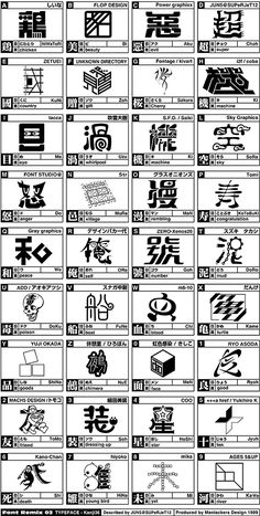 02 FontRemix - Type36(1999作品)