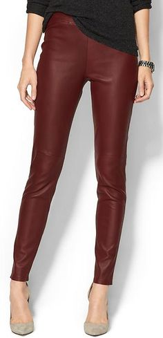 sleek oxblood leather pants http://rstyle.me/~2QBdZ