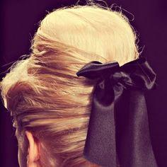 60s Hair Bun Tutorial