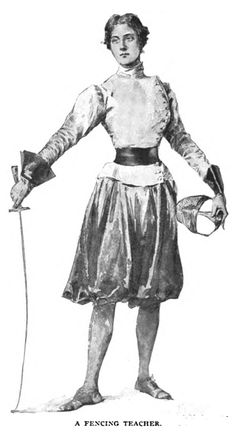 A Fencing Teacher From Munsey's Magazine, 1897