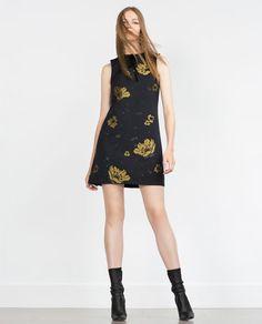 ZARA - WOMAN - JACQUARD DRESS