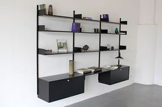 606 Shelving System by Dieter Rams 1960 - Vitsoe | Regal-System Made in Germany