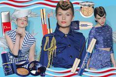 Sail the beauty! #navy #makeup #beauty #ss2014 @Grazia.it
