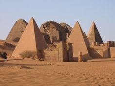 Kingdom of Kush:  South Sudan / Ethiopa (Africa).
