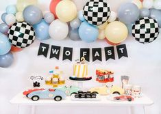 8 Most Popular Birthday Themes for Your Toddler 2nd Birthday Party For Boys, Second Birthday Ideas, Race Car Birthday, Race Car Party, Cars Birthday Parties, Birthday Celebration, Baby Boy Birthday Themes, Toddler Boy Birthday, Cars Birthday Invitations