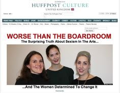 WORSE THAN THE BOARDROOM: Huffington Post UK Culture Splash