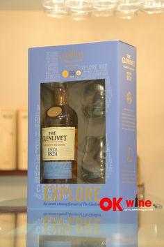 Набор виски Гленливет Фаундерс Резерв / Glenlivet Founder's Reserve, 40%, 0.7л, в подарочной коробке