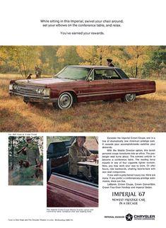 Directory Index: Chrysler & Chrysler Retro Cars, Vintage Cars, Antique Cars, Prestige Car, Car Brochure, Chrysler Imperial, Dodge Chrysler, Pony Car, Car Advertising