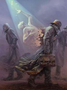 Oil painting by Tomasz Alen Kopera