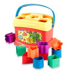 Top 20 Baby Registry Items from buybuy Baby® - Fisher Price® Brilliant Basics™ Baby's First Blocks - http://www.registryfinder.com/blog/buybuy-babys-top-20-baby-registry-gifts/
