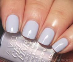 Avon Gel Finish in Rain Washed   I Know all the Words