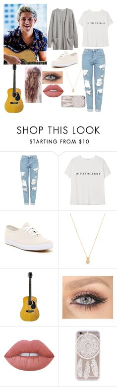 """Jam Session with Niall"" by aubreyhyder ❤ liked on Polyvore featuring H&M, Topshop, MANGO, Keds, Wanderlust + Co and Lime Crime"