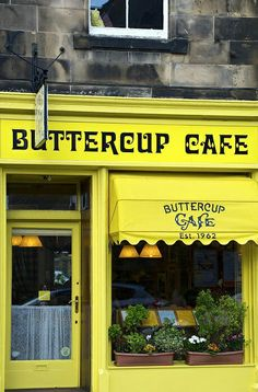 Buttercup Cafe - North Berwick, Scotland