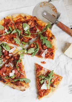 Chorizo Sausage and Manchego Cheese Pizza | Seasons and Suppers