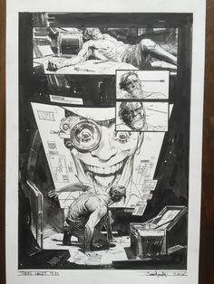 Sean Gordon MURPHY - Tokyo Ghost 4 p 21 Comic Art