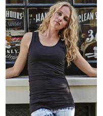 Dámský dlouhý top Stretch Tee Jays Basic Tank Top, Sport, Tank Tops, Black, Dresses, Women, Fashion, Vestidos, Moda