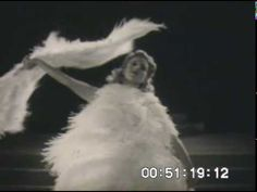 Fan Dance, Sally Rand. -She was arrested for this..