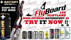 Battery keeps you #FLYHIGH by #Extreme #Watersport.  For bookings call 06-54710470 #Flyboard - #Hoverboard - #Jetpack - #Flyride sponserd by #Battery #Energy #Drink. More info on http://bit.ly/2o0R1Bu #vlietlanden #leidschendam #teambuilding #personeelsuitje #vrijgezellenfeest #cursussen #clinics #demonstraties #arrangementen