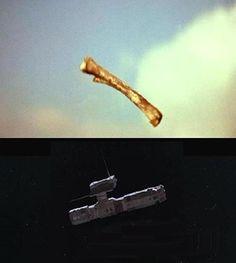 Satélite-Osso - 2001: A Space Odyssey