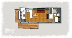 Une famille ne trouvant pas sa tiny house idéale à décidé de construire son propre modèle. De cette expérience est née...