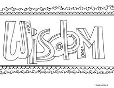 Word Of Wisdom Coloring Page New Word Coloring Pages Doodle Art Alley Quote Coloring Pages, Free Printable Coloring Pages, Colouring Pages, Adult Coloring Pages, Coloring Books, Colouring Sheets, Inspiring Words, Fantasy Magic, Coloring Sheets For Kids