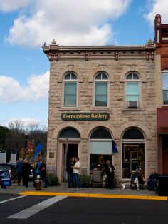 Cornerstone Gallery Baraboo WI I Used To Live Up Stairs In This Beautiful Building