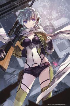 Sinon // Sword art Online