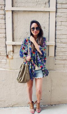 cutoffs on repeat To be the cover person,enjoy and share with your personal style :Street Style Season Outfits With Hats, Chic Outfits, Style And Grace, My Style, Boho Style, Boho Fashion, Autumn Fashion, Fashion Jewelry, Fashion Trends