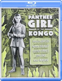 Panther Girl of the Kongo (1955) Blu-ray Review: The Claw Monsters Strike Back - Cinema Sentries