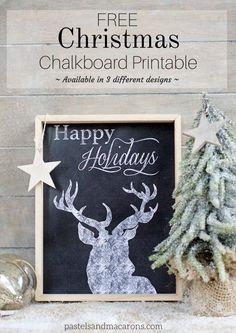 FREE Christmas Chalk