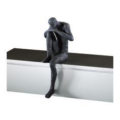 Thinking Man Shelf Decor