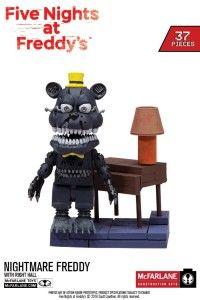 McFarlane Toys Five Nights At Freddy& Micro Right Hall Construction Set Freddy Plush, Freddy Toys, Fnaf Freddy, Five Nights At Freddy's, Fnaf Lego Sets, Legos, Hot Toys Iron Man, Freddy Fazbear, Cool Lego Creations