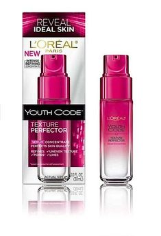 L'oreal Youth Code Texture Perfector Sreum = Lancome Visionnaire dupe