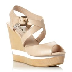 69f46a1f09 Reach new heights in Dune London's latest edit of ladies high heeled sandals.  Choose from a chunky sole and block heel for that chic every day look, ...