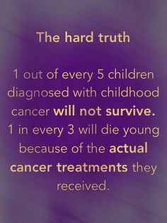 The hard truth Information from the Ethan Jostad Foundation.