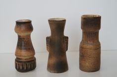Lore ceramics Beesel the Netherlands 1976-1981 Matt Camps B.14 - B.15 - B.16