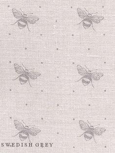 Peony & Sage, Just Bees (swedish grey)