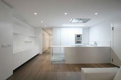 Interior design of A+L House. Nonna Design