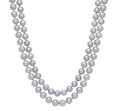 14K Yellow Gold 2-Strand Freshwater Pearl Necklace, great necklace for mother of the bride at theshoppingchannel.com $229.99