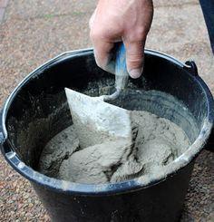 Schritt für Schritt-Anleitung Zementdeko