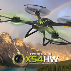 Best offer price $99.44, Syma X54HW FPV 720P HD Camera Altitude Hold 2.4G 4CH 6Axis RC Quadcopter - Black for sale at HobbyBuying online store,buy now get discount,coupons,shipping fast.