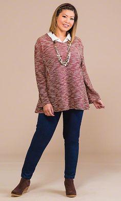 Dublin Sweater / MiB Plus Size Fashion for Women / Fall Fashion http://www.makingitbig.com/product/4923